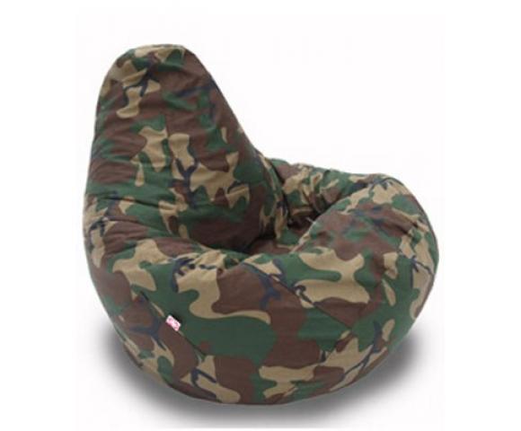 """Кресло-мешок """"Груша"""" милитари"""