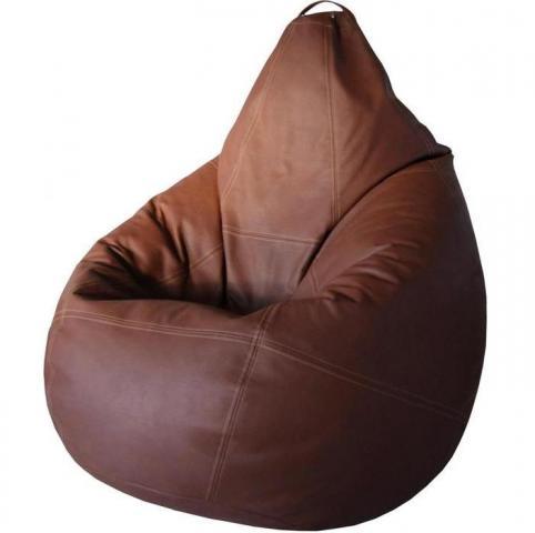 """Кресло-мешок """"Груша"""", (Эко-наполнитель) ткань эко-кожа"""