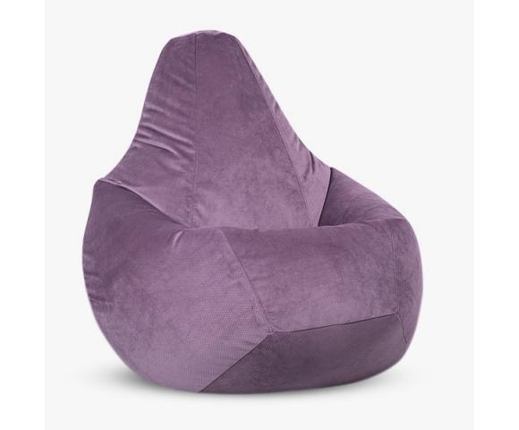 Кресло-мешок «Груша», эко-наполнитель, ткань велюр